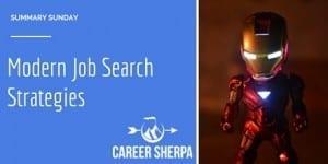 Summary Sunday: Modern Job Search Strategies