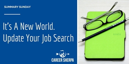 It's A New World. Update Your Job Search