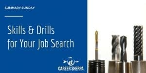 Summary Sunday: Skills and Drills For Your Job Search