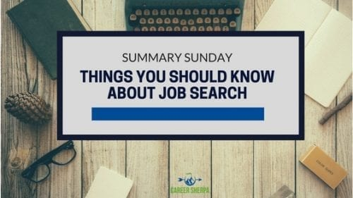 Things You Should Know About Job Search