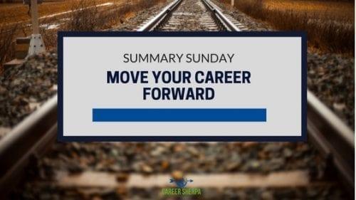 summary sunday career advancement