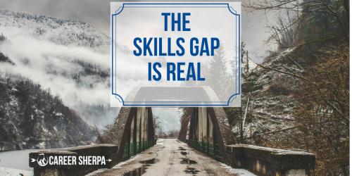 skills gap real