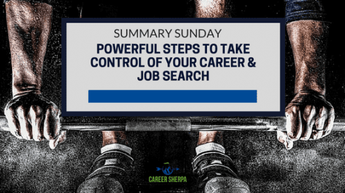 control job search and career