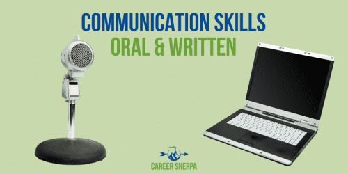 Resume oral communication skills