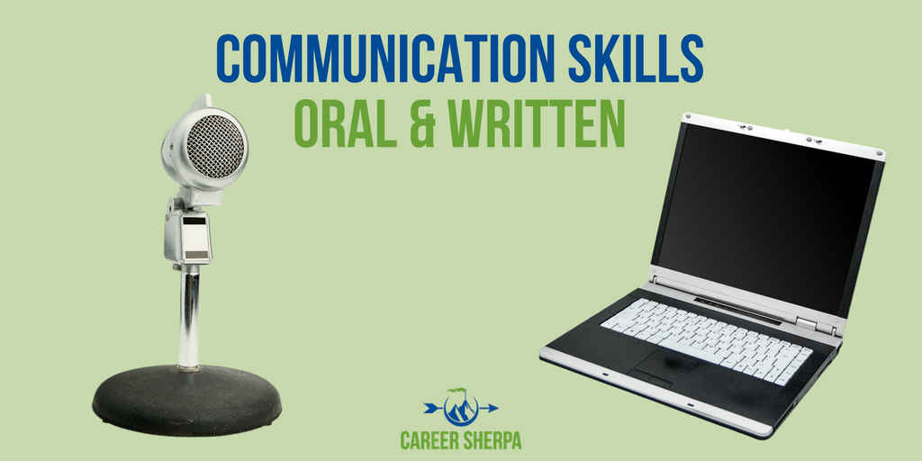 communication oral written
