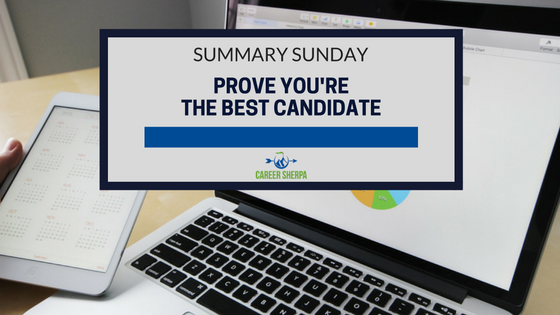 prove you're the best candidate
