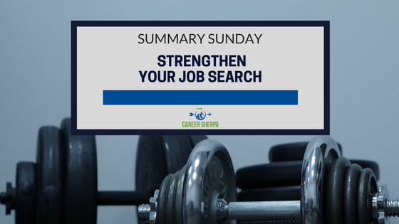 strengthen job search