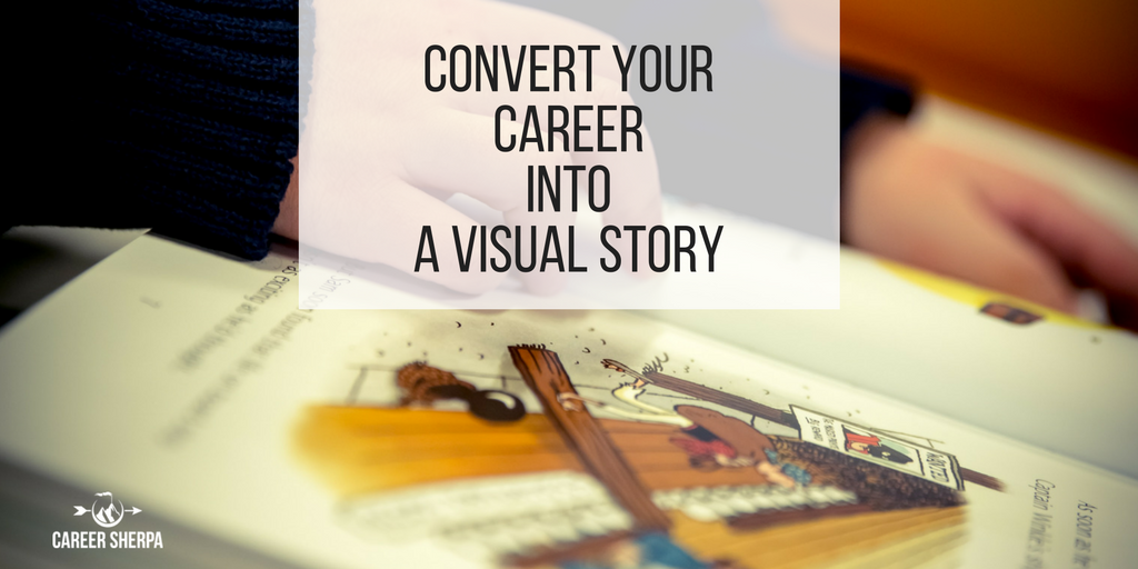visual career story