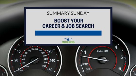 boost career job search