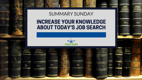 knowledge about today's job search