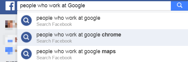 Search people by company