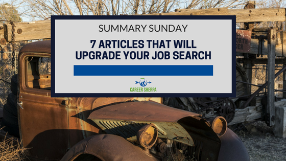 upgrade your job search