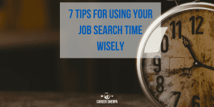 Job Search Time Wisely