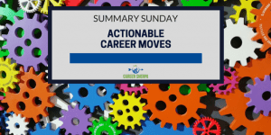 actionable career moves