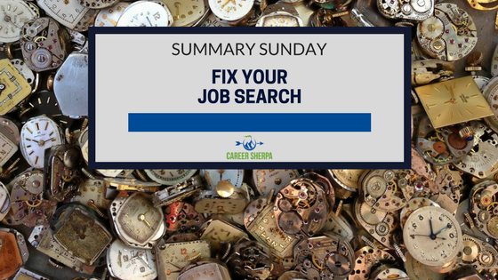 fix your job search