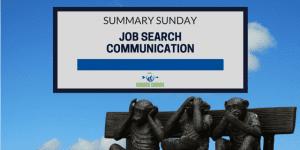 Job Search Communication