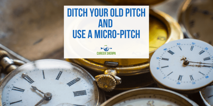 Use A Micro-Pitch