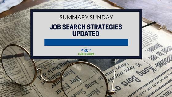 Job Search Strategies Updated