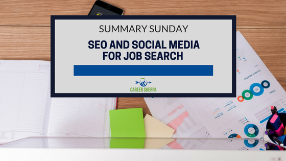 SEO and Social Media For Job Search