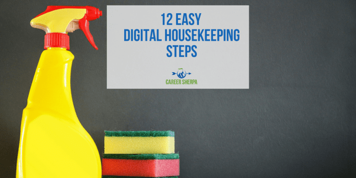 digital housekeeping