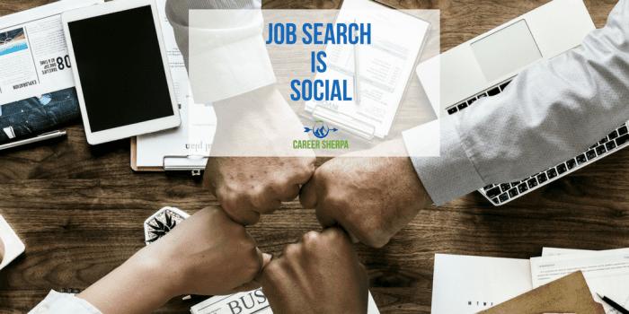 Job Search Is Social