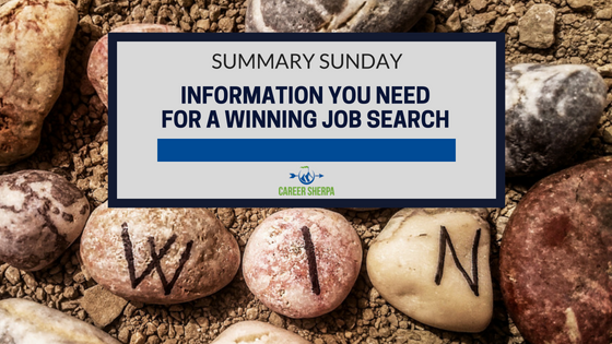 Information You Need For A Winning Job Search