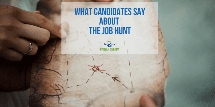 What Candidates Say About The Job Hunt