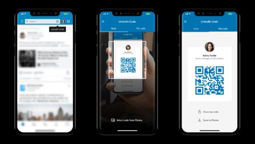 LinkedIn QR code 2018