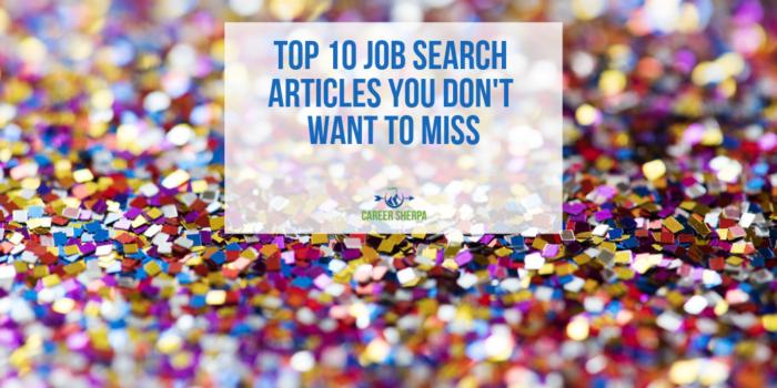Top 10 Job Search Articles 2018