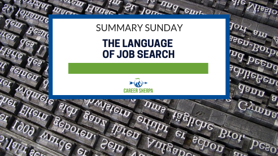 The Language of Job Search