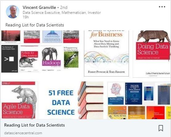 data scientist reading list