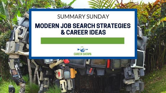 modern job search strategies