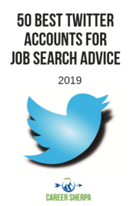 50 Best Twitter Accounts For Job Search Advice 2019 P