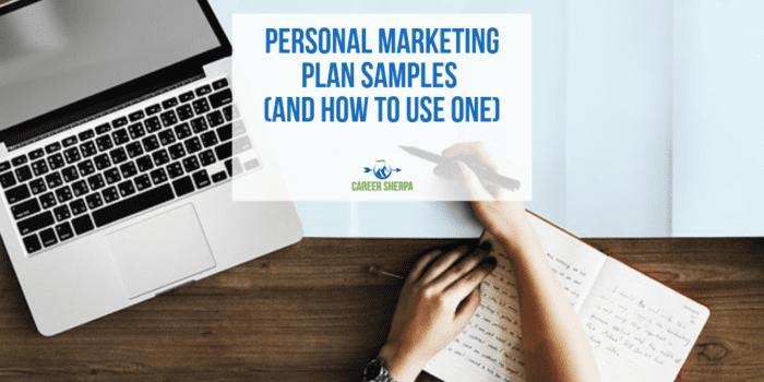 Personal Marketing Plan Samples