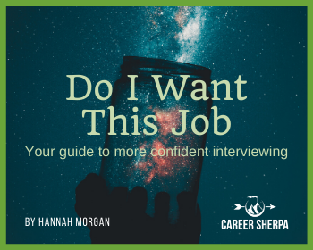 do I want this job interviewing ebook