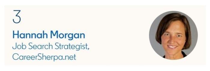 LinkedIn Top Voices Hannah Morgan