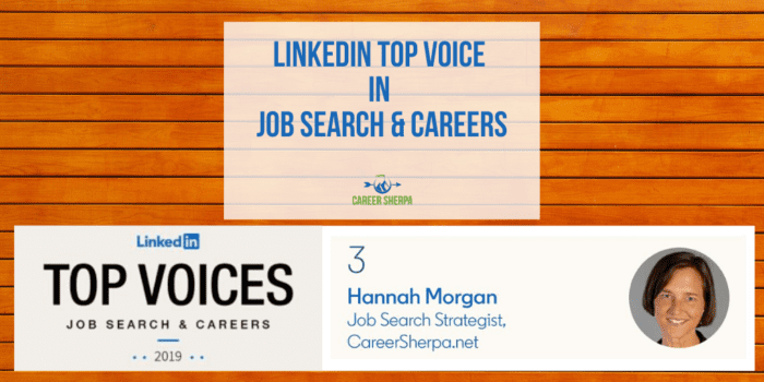 LinkedIn Top Voice in Job Search & Careers