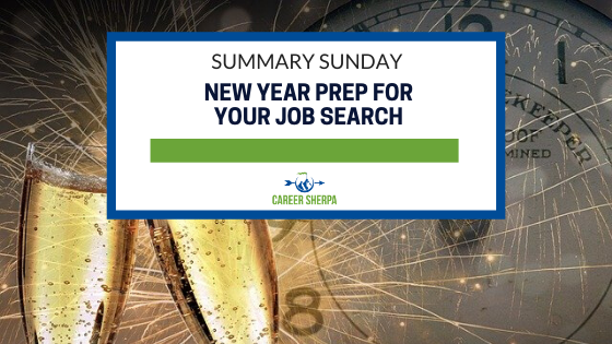 Summary Sunday_ New Year Prep For Your Job Search
