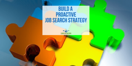 build a proactive job search strategy