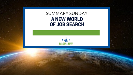 a new world of job search