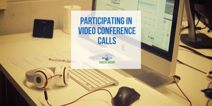 Participating in video conference calls