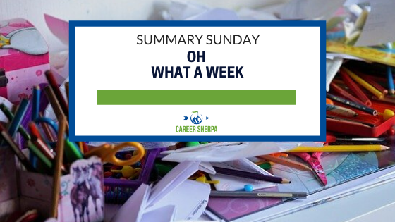summary sunday: oh what a week