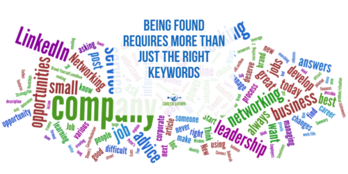 Being Found Requires More Than Just the Right Keywords