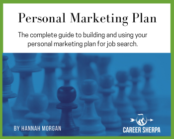 Personal marketing plan cover