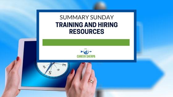 Summary Sunday Training and Hiring Resources