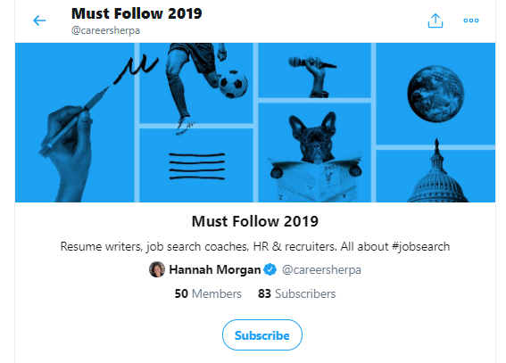 How to subscribe to a list on Twitter