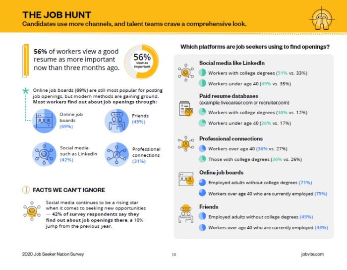 2020 job seeker nation the job hunt