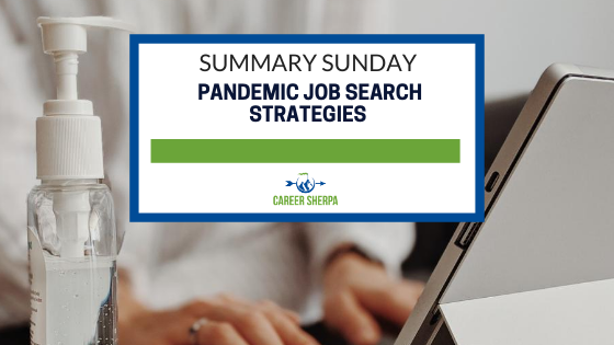 Summary Sunday Pandemic Job Search Strategies