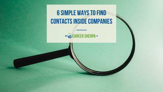 6 Simple Ways to Find Contacts Inside Companies