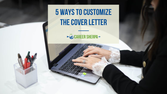 Ways To Customize The Cover Letter